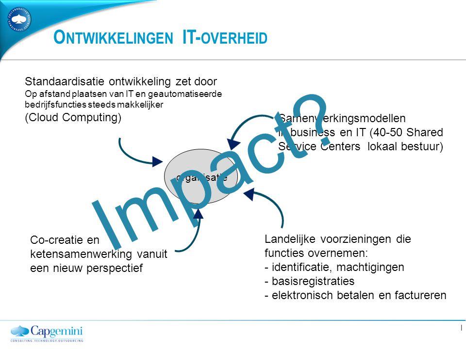 Ontwikkelingen IT-overheid