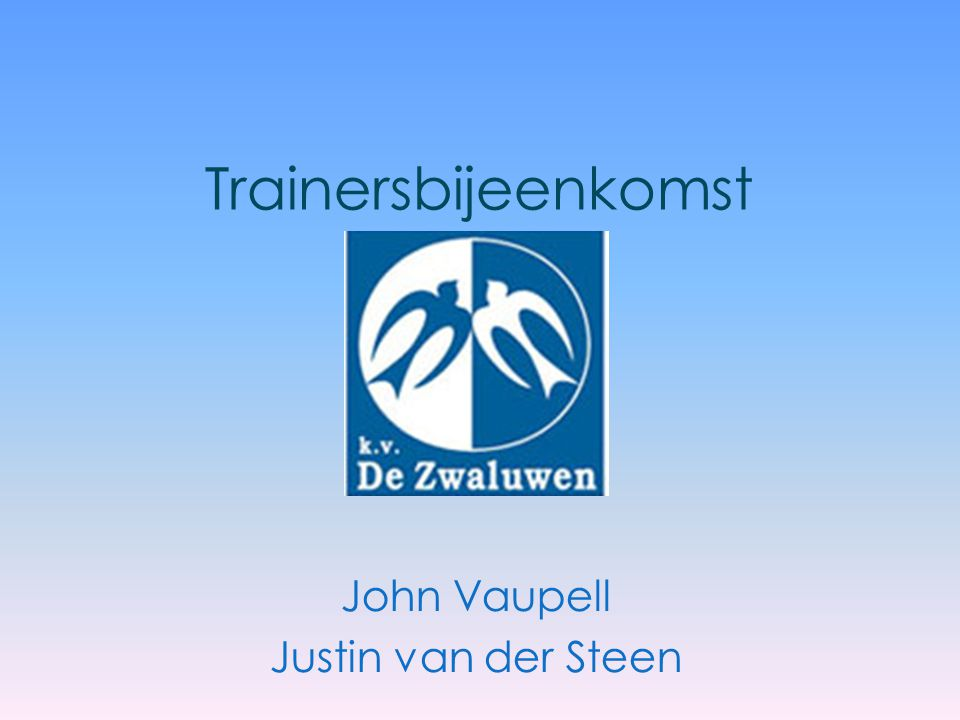 John Vaupell Justin van der Steen