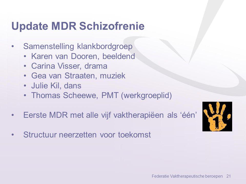Update MDR Schizofrenie