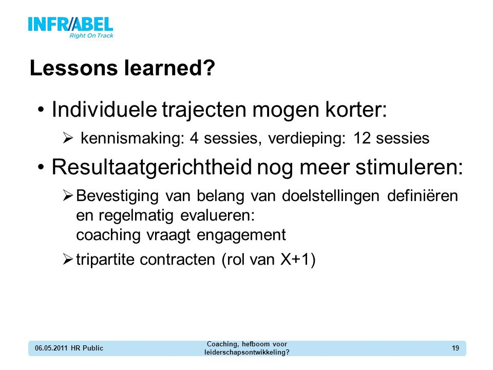 Coaching, hefboom voor leiderschapsontwikkeling
