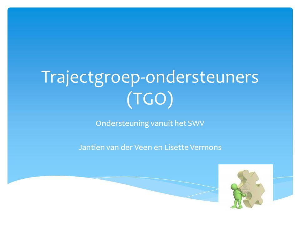 Trajectgroep-ondersteuners (TGO)
