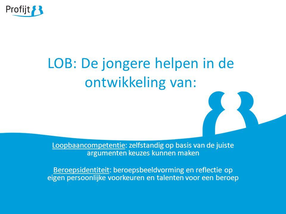 LOB: De jongere helpen in de ontwikkeling van: