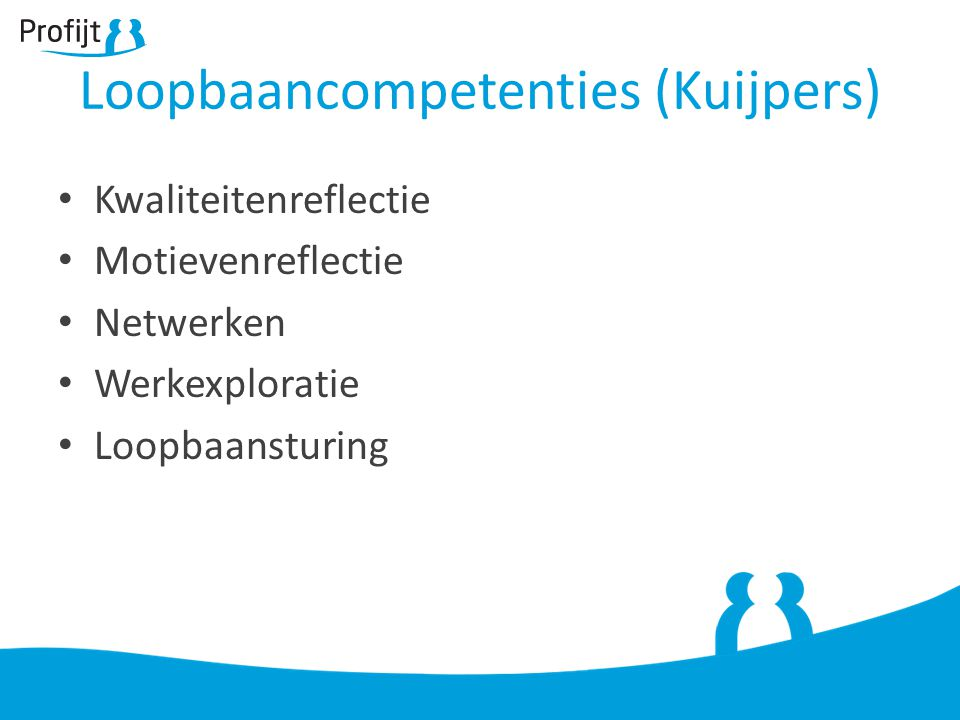 Loopbaancompetenties (Kuijpers)