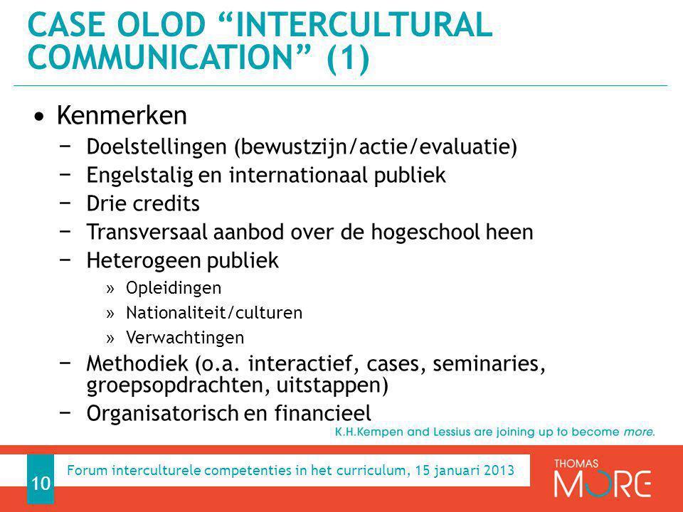 Case OLOD Intercultural communication (1)