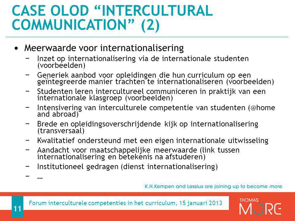 Case OLOD Intercultural communication (2)