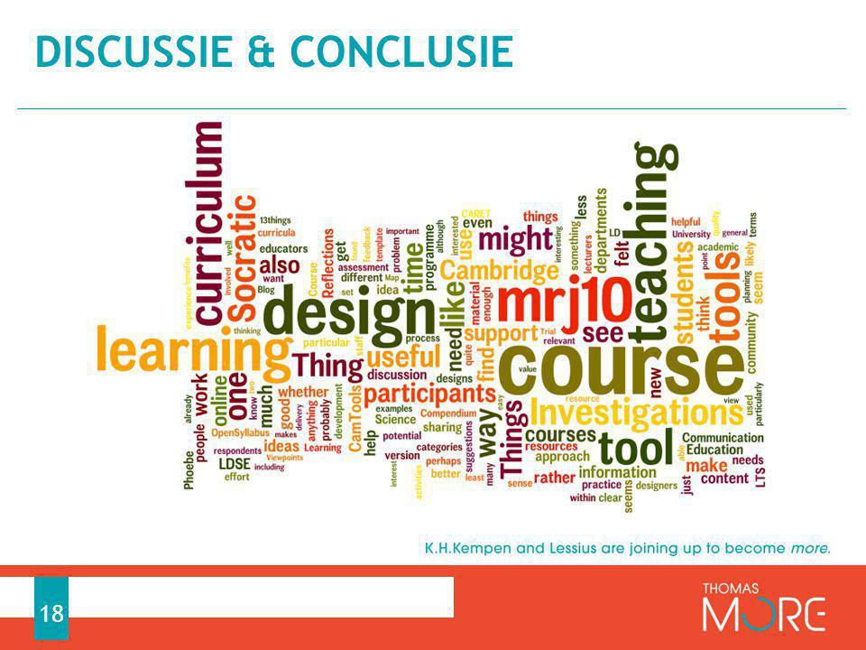 Discussie & conclusie