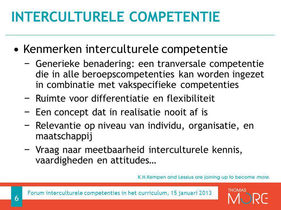 Interculturele competentie
