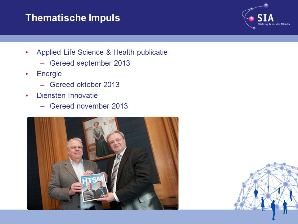Thematische Impuls Applied Life Science & Health publicatie