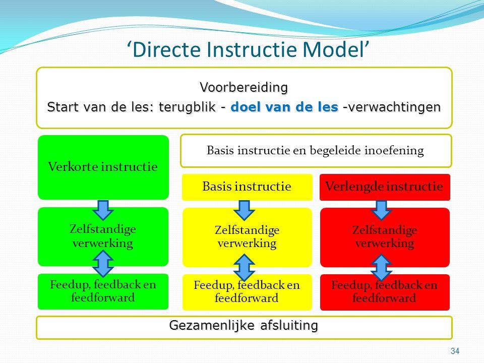 'Directe Instructie Model'