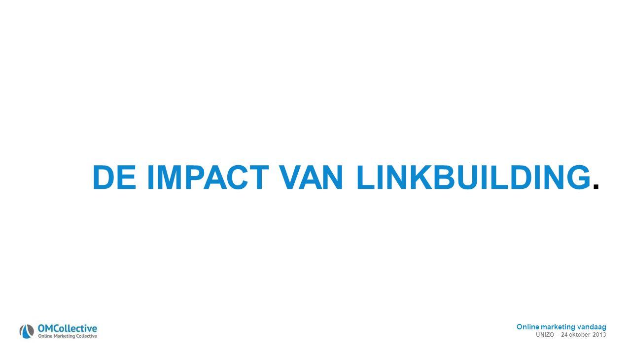 DE IMPACT VAN LINKBUILDING.