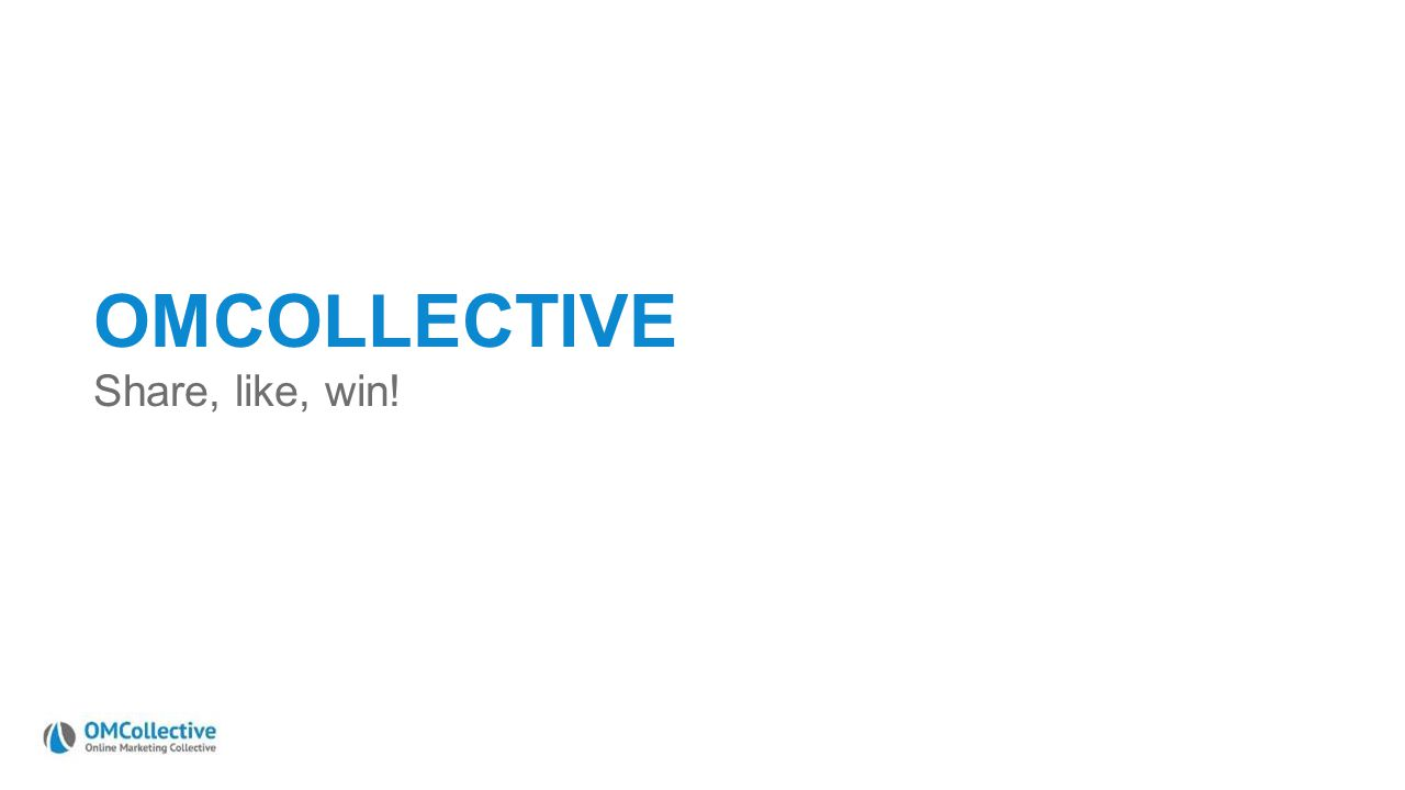 OMCOLLECTIVE Share, like, win!