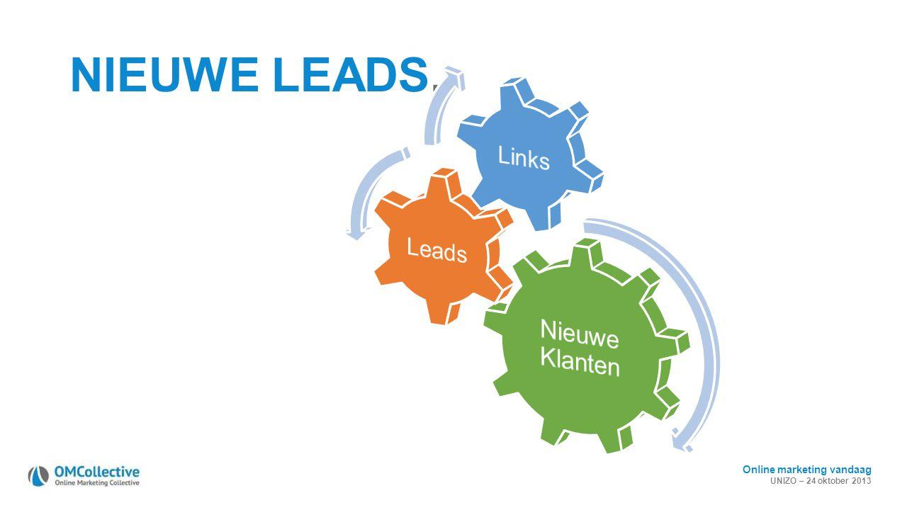 NIEUWE LEADS. Nieuwe Klanten Leads Links