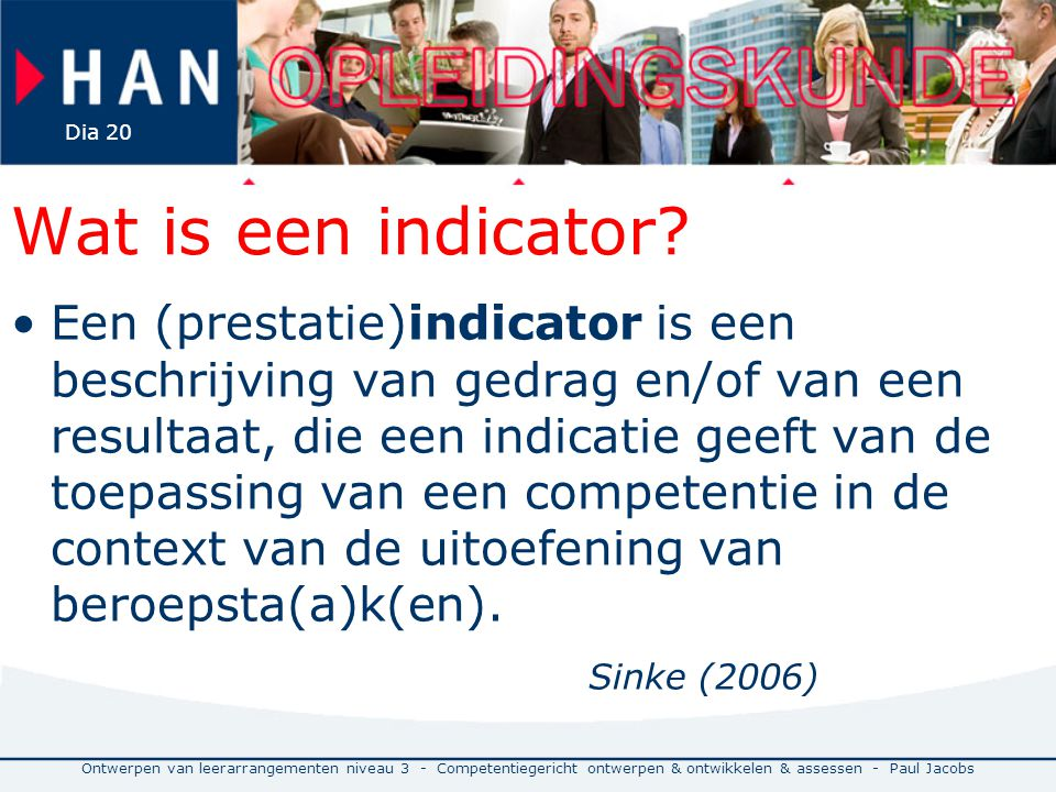 Wat is een indicator