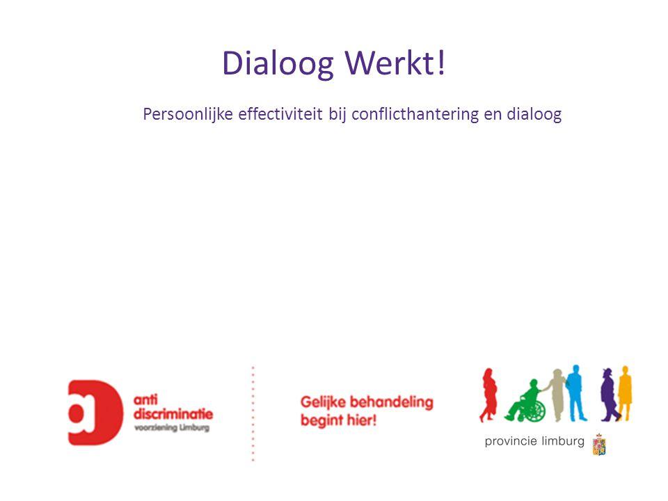 Persoonlijke effectiviteit bij conflicthantering en dialoog