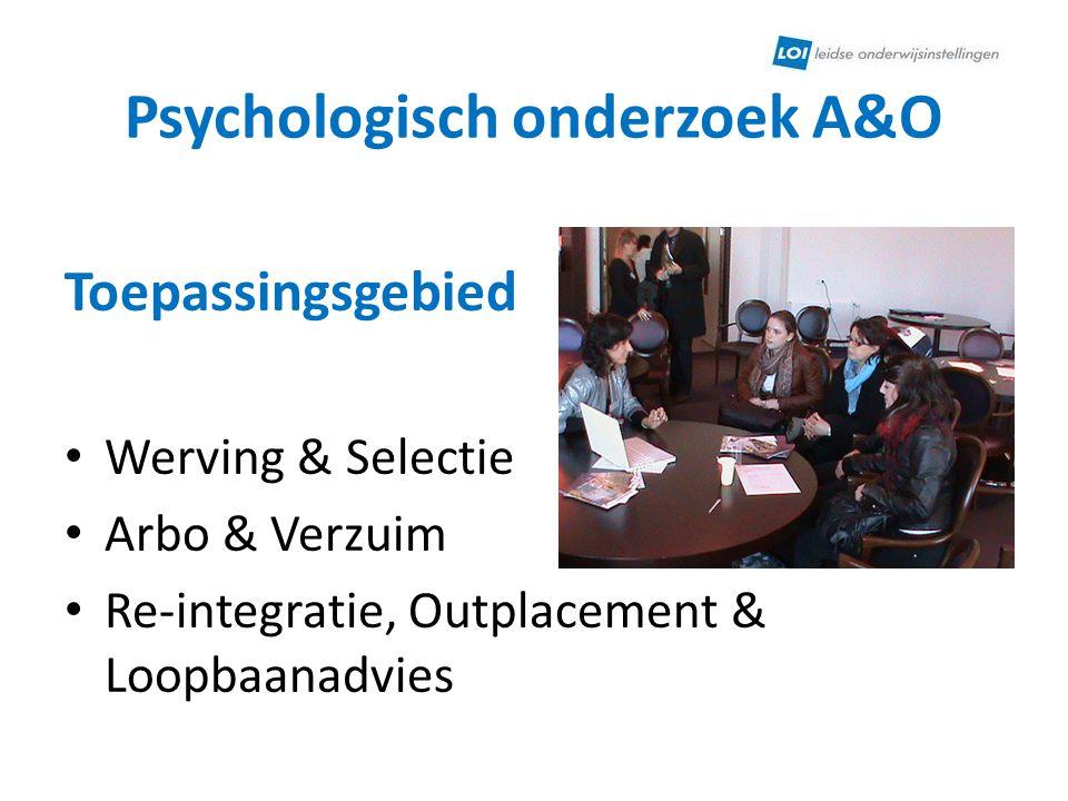 Psychologisch onderzoek A&O