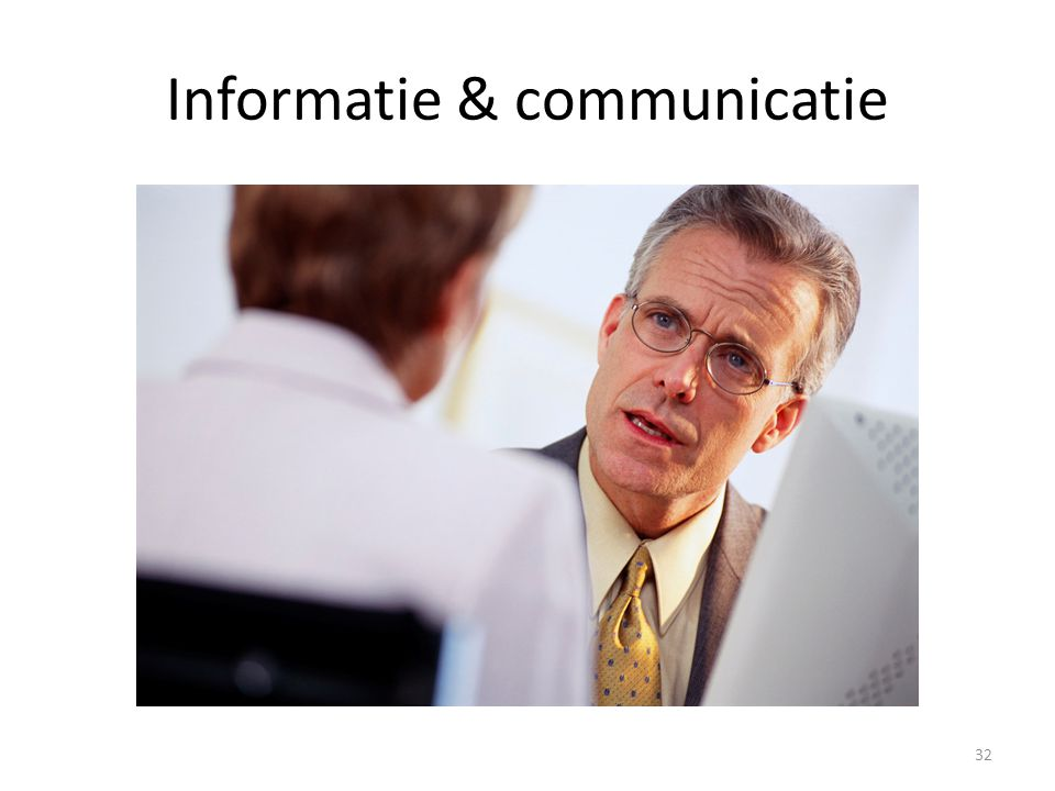 Informatie & communicatie