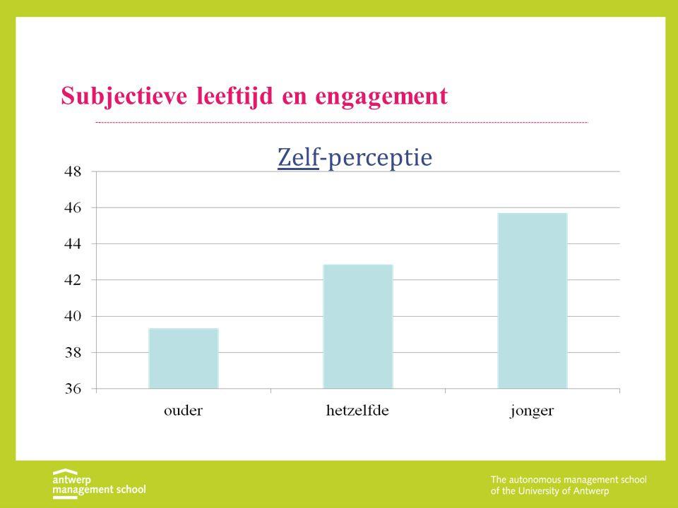 Subjectieve leeftijd en engagement