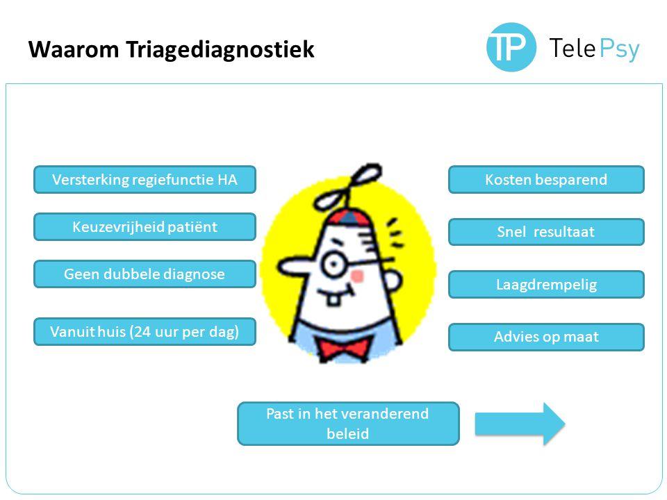 Waarom Triagediagnostiek