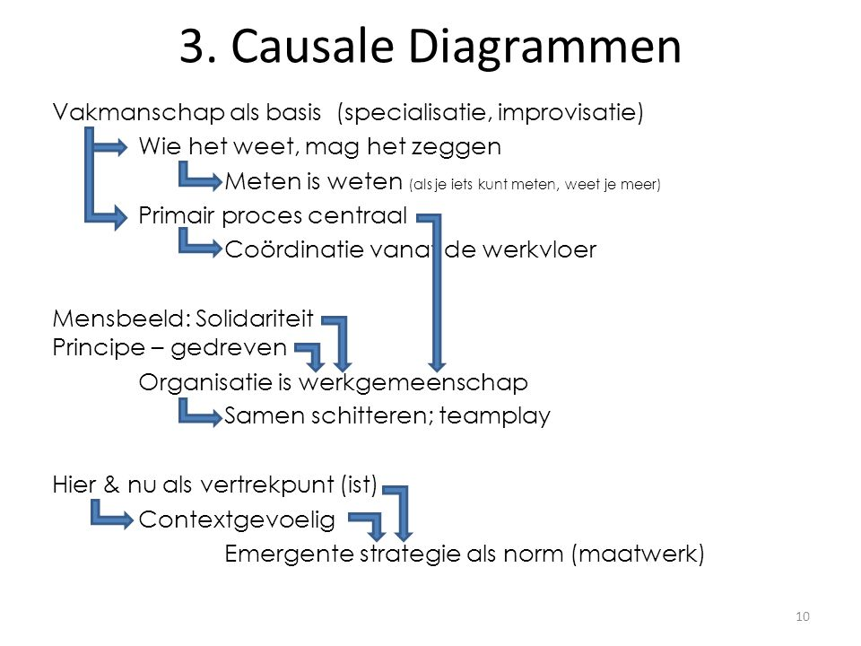 3. Causale Diagrammen