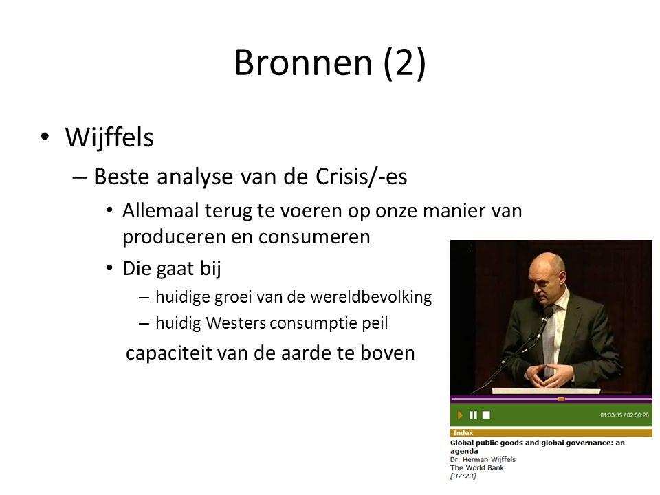 Bronnen (2) Wijffels Beste analyse van de Crisis/-es