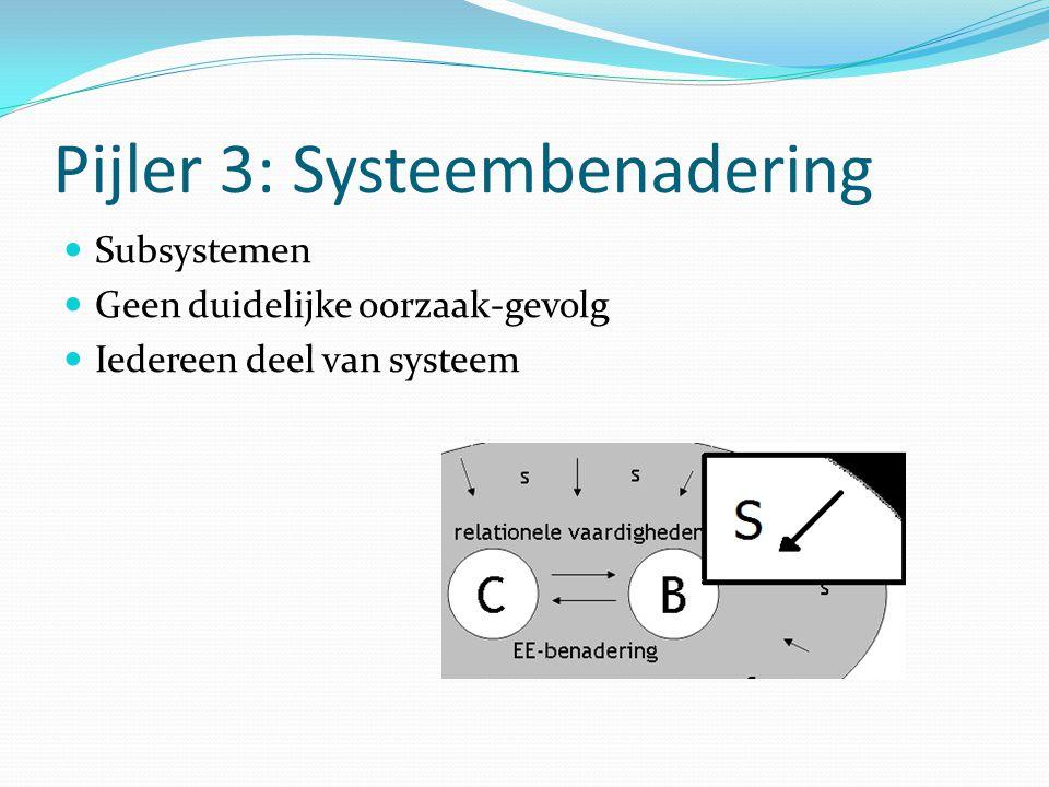 Pijler 3: Systeembenadering
