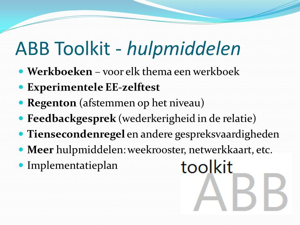 ABB Toolkit - hulpmiddelen