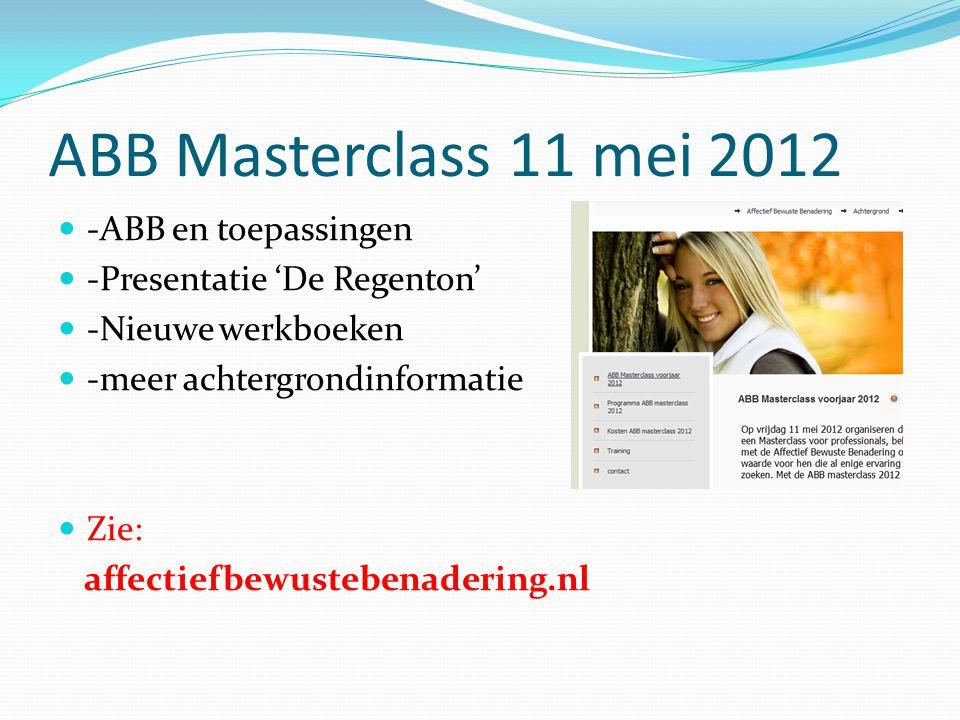 ABB Masterclass 11 mei 2012 -ABB en toepassingen