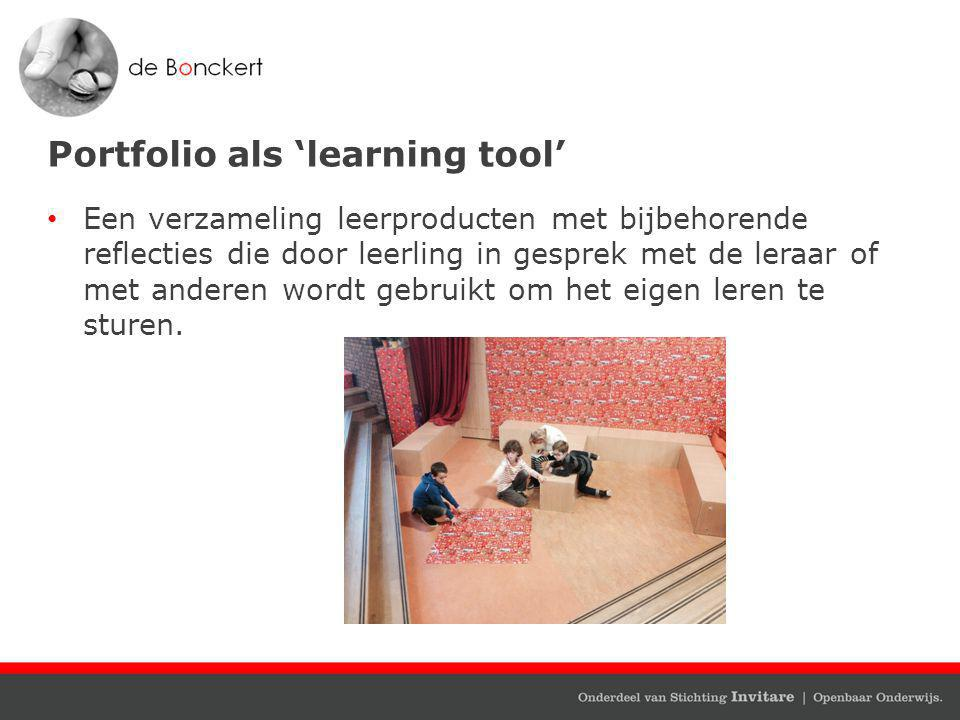 Portfolio als 'learning tool'