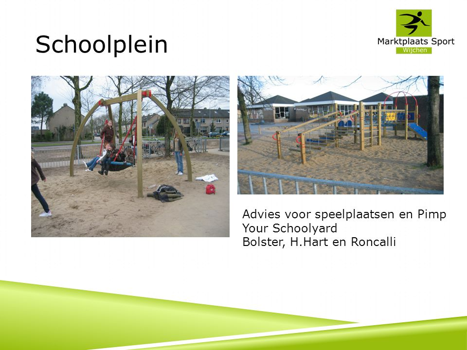 Schoolplein Advies voor speelplaatsen en Pimp Your Schoolyard