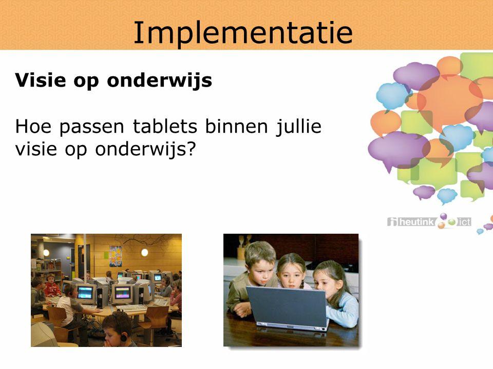Implementatie Visie op onderwijs