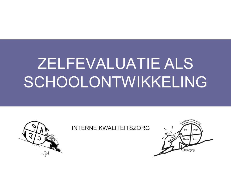 ZELFEVALUATIE ALS SCHOOLONTWIKKELING