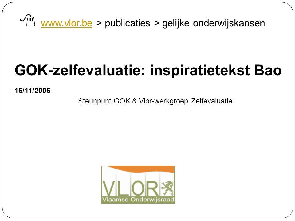  www.vlor.be > publicaties > gelijke onderwijskansen