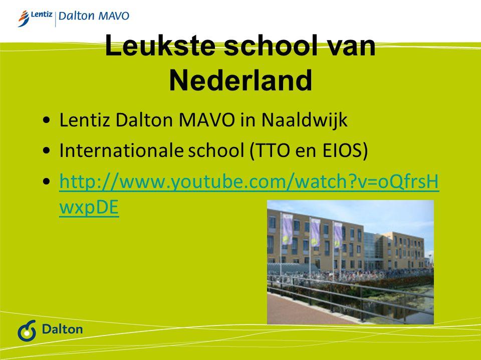Leukste school van Nederland