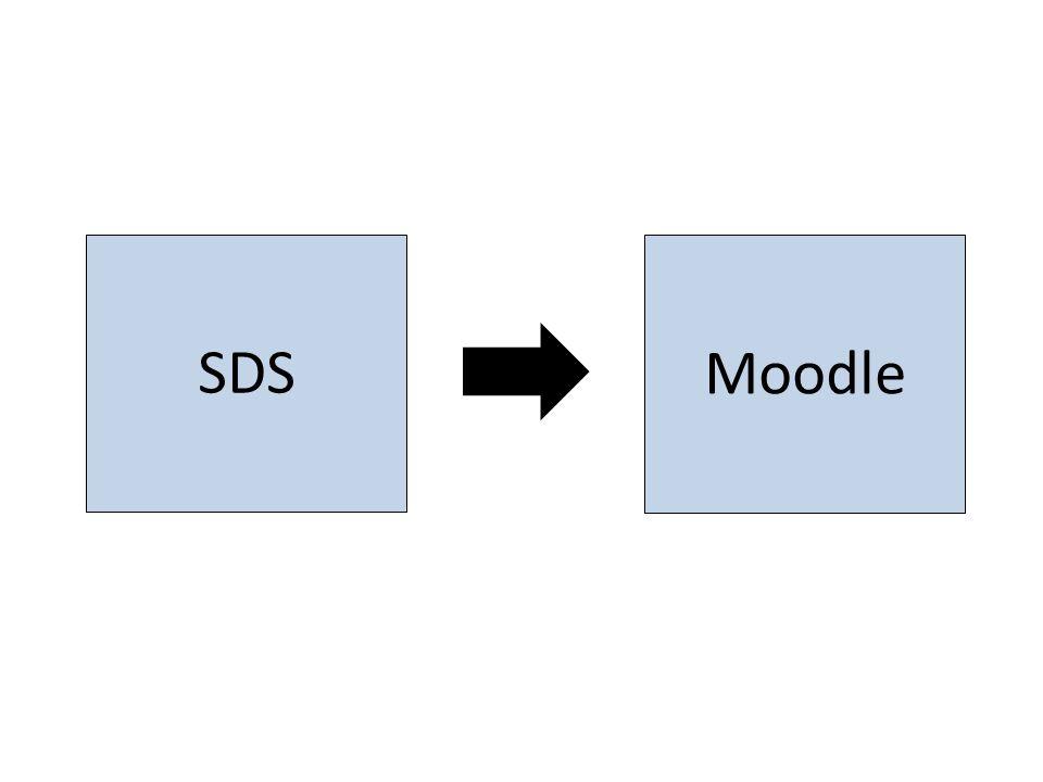 SDS Moodle