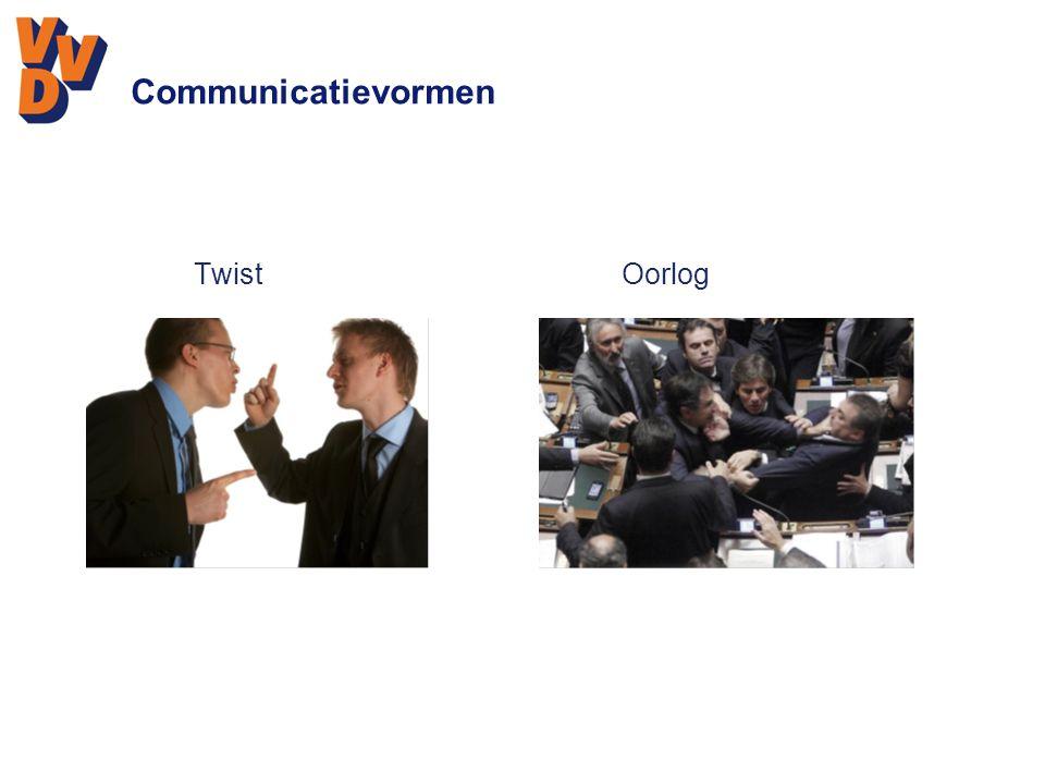 Communicatievormen Twist Oorlog