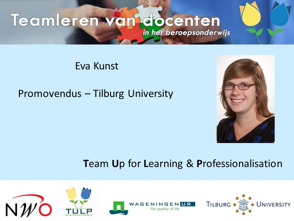 Team Up for Learning & Professionalisation