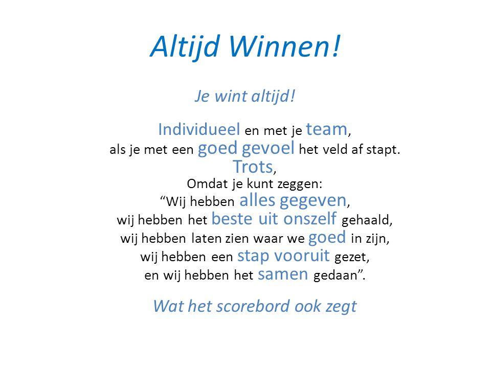 Altijd Winnen!