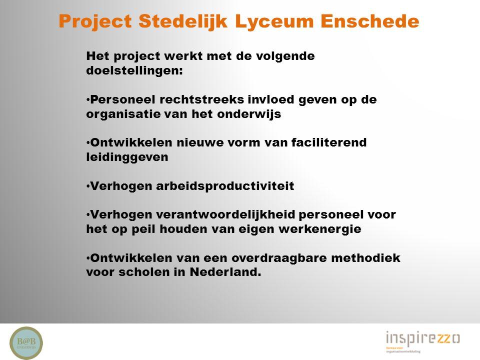 Project Stedelijk Lyceum Enschede