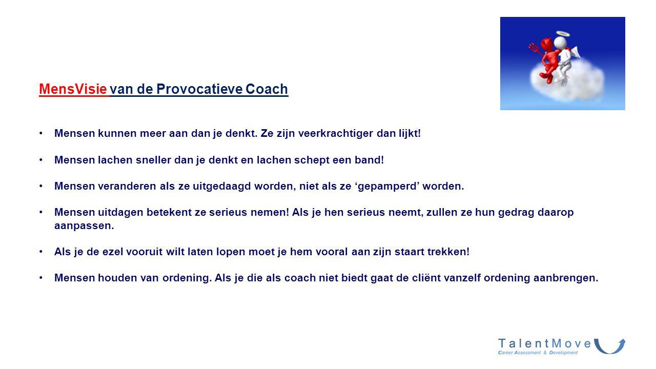 MensVisie van de Provocatieve Coach