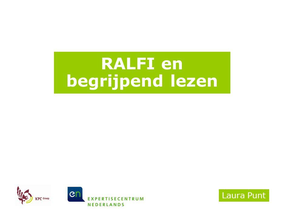 RALFI en begrijpend lezen