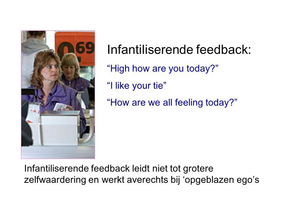 Infantiliserende feedback: