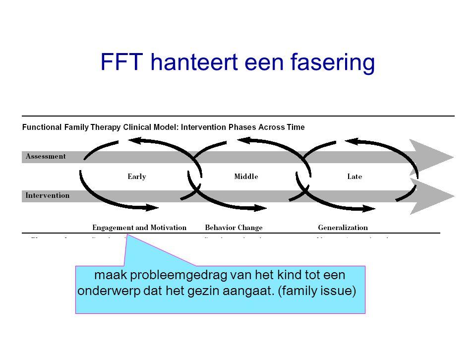 FFT hanteert een fasering