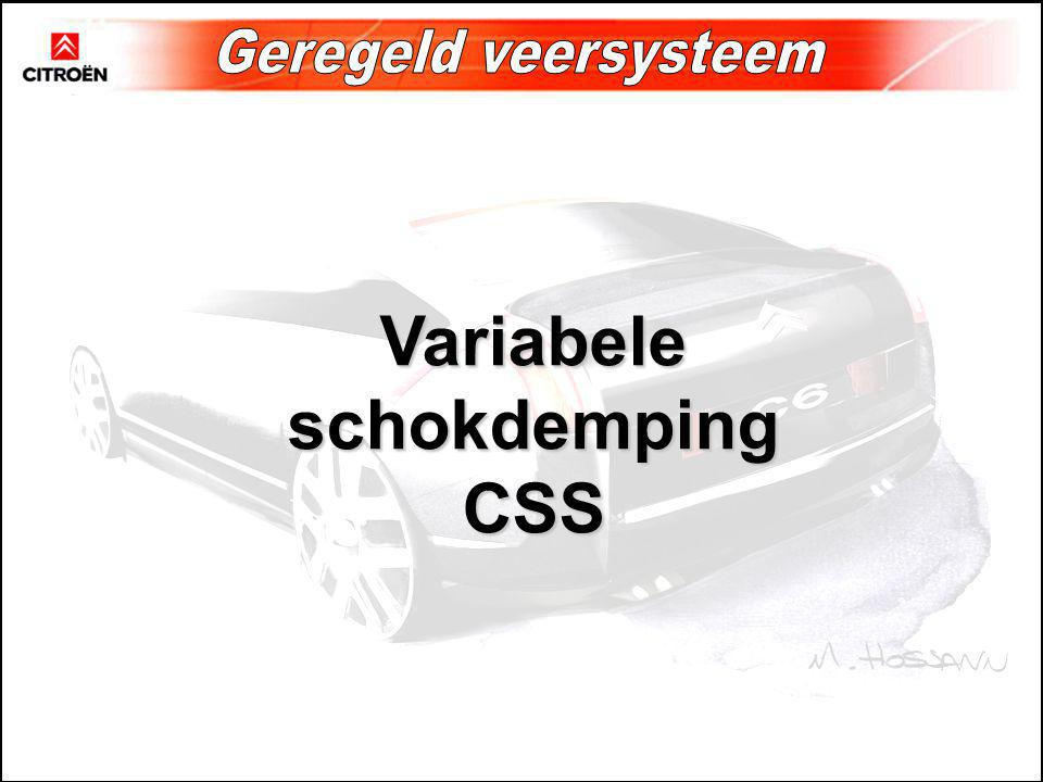 Variabele schokdemping CSS