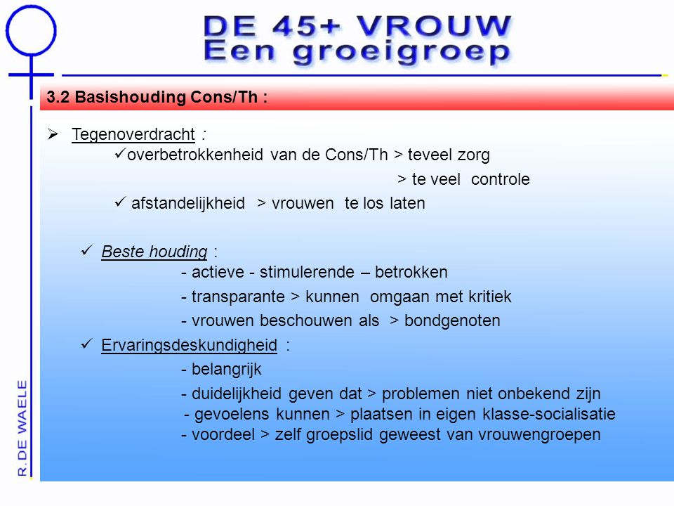 3.2 Basishouding Cons/Th :
