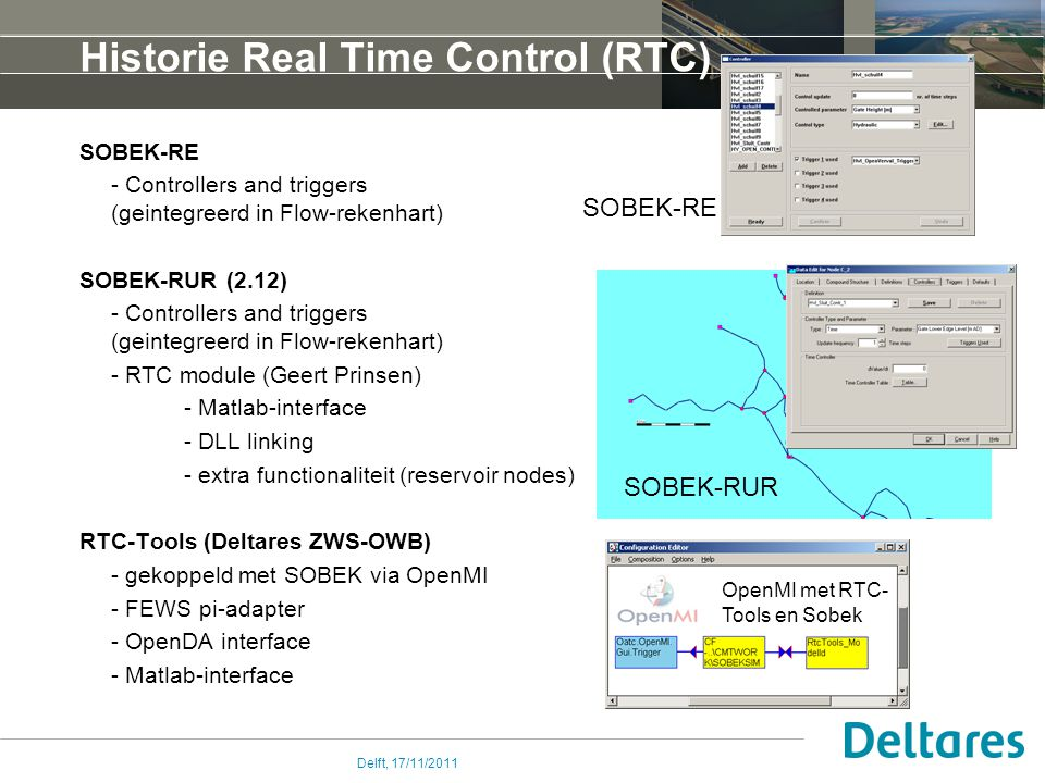 Historie Real Time Control (RTC)