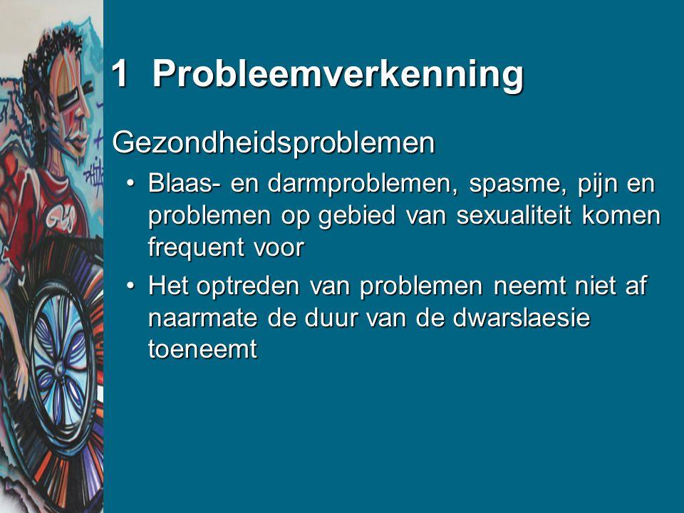 1 Probleemverkenning Gezondheidsproblemen