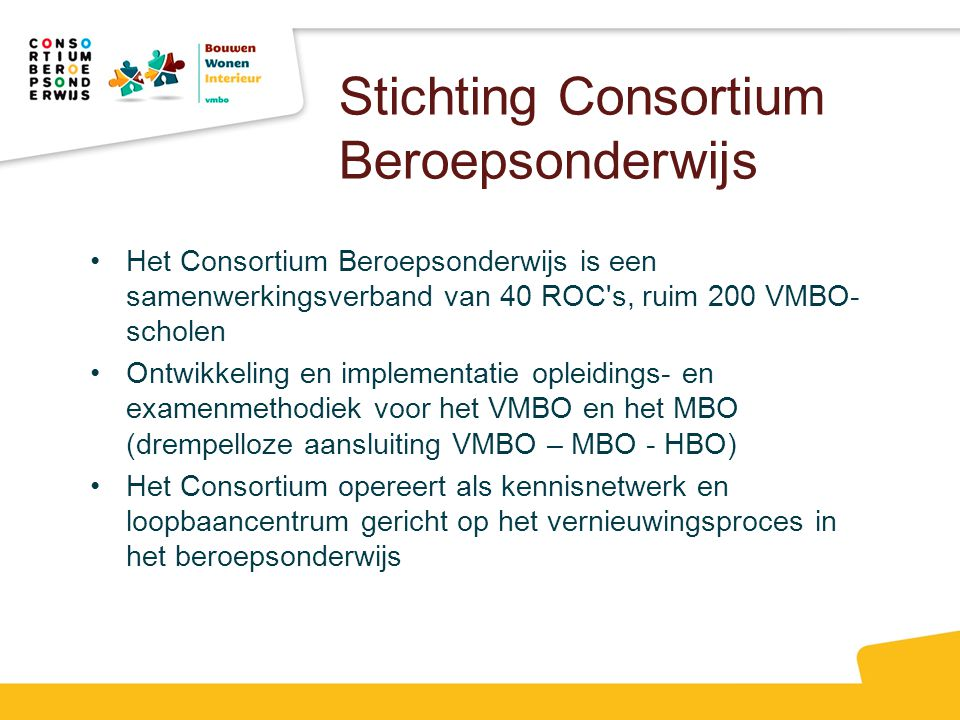 Stichting Consortium Beroepsonderwijs