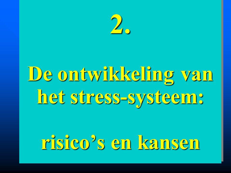 2. De ontwikkeling van het stress-systeem: risico's en kansen
