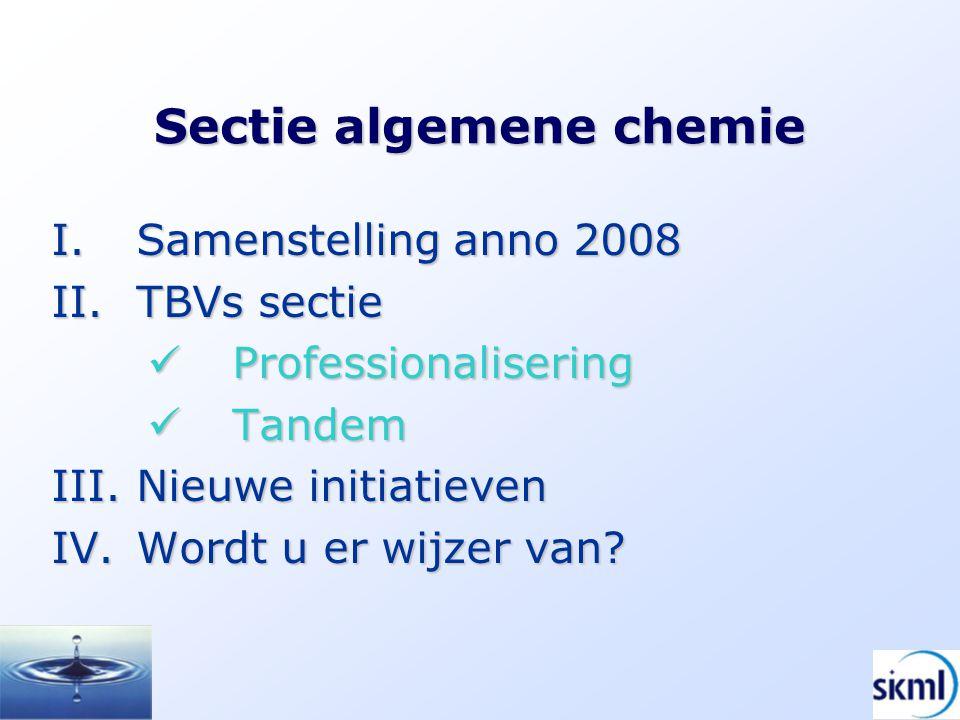 Sectie algemene chemie