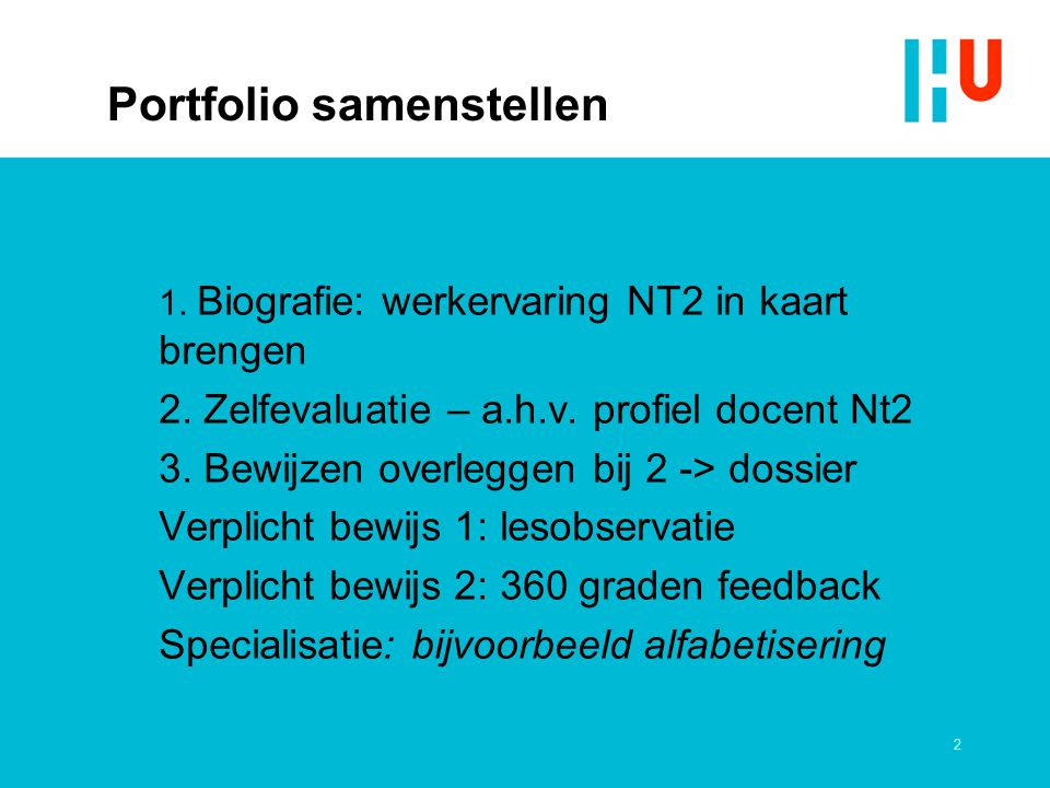 opleiding nt2 docent